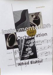 Cover of: Instrumentation/orchestration