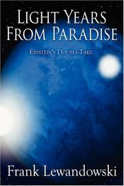 Cover of: Light Years from Paradise | Frank Lewandowski