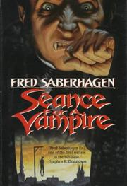 Cover of: Séance for a vampire