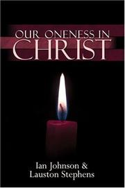 Cover of: Our oneness in Christ