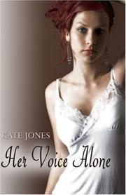 Cover of: Her Voice Alone | Kate Jones