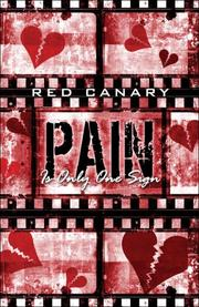 Cover of: Pain Is Only One Sign | Red Canary