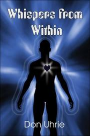 Cover of: Whispers from Within | Don Uhrie