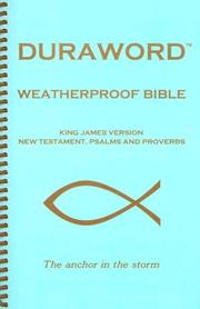 KJV Duraword Weatherproof New Testament