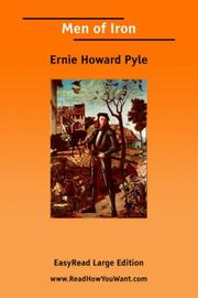 Cover of: Men of Iron [EasyRead Large Edition] | Howard Pyle