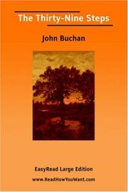 Cover of: The Thirty-Nine Steps [EasyRead Large Edition] | John Buchan