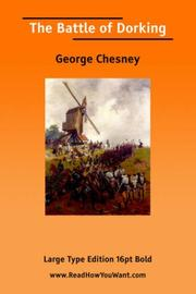 Cover of: The Battle of Dorking