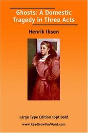 Cover of: Ghosts by Henrik Ibsen