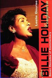 Cover of: The Billie Holiday companion |