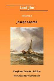 Lord Jim Volume 2 [EasyRead Comfort Edition]