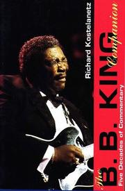 Cover of: The B.B. King companion |