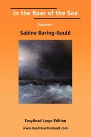 Cover of: In the roar of the sea | Sabine Baring Gould