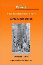an evaluation of the novel pamela or virtue rewarded by samuel richardson