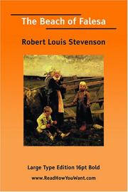 Cover of: The Beach of Falesa (Large Print) | Robert Louis Stevenson