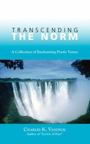 Cover of: Transcending the Norm