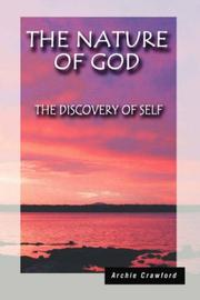 Cover of: The Nature of God