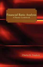 Cover of: Financial Ratio Analysis
