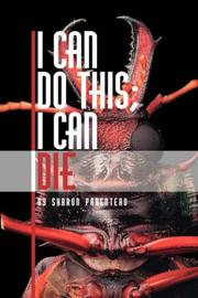 Cover of: I Can Do This; I Can Die