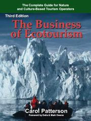 Cover of: The Business of Ecotourism