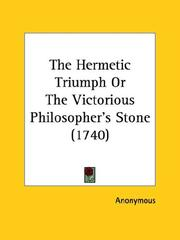 Cover of: The Hermetic Triumph Or The Victorious Philosopher
