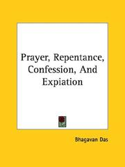 Cover of: Prayer, Repentance, Confession, And Expiation
