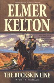Cover of: The buckskin line | Elmer Kelton