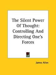 Cover of: The Silent Power Of Thought