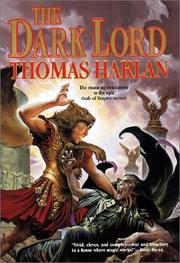 Cover of: The dark lord | Harlan, Thomas.