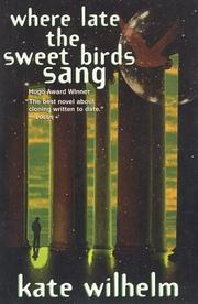 Cover of: Where Late the Sweet Birds Sang