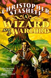 Cover of: A wizard and a warlord | Christopher Stasheff