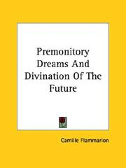 Cover of: Premonitory Dreams and Divination of the Future