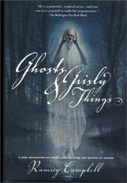 Cover of: Ghosts and Grisly Things