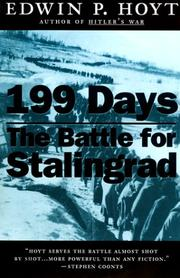 Cover of: 199 days: the battle for Stalingrad