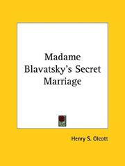 Cover of: Madame Blavatsky