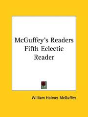 Cover of: Mcguffey's Readers Fifth Eclectic Reader