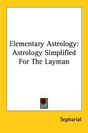 Cover of: Elementary astrology