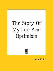 Cover of: The Story Of My Life And Optimism