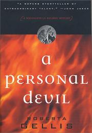 Cover of: A Personal Devil
