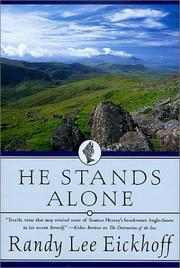 Cover of: He stands alone