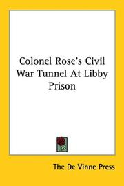 Cover of: Colonel Rose