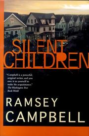 Cover of: Silent children