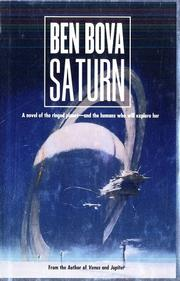 Cover of: Saturn: A Novel of the Ringed Planet (The Grand Tour)