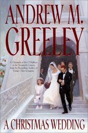 Cover of: A Christmas wedding