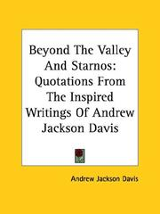 Cover of: Beyond The Valley And Starnos