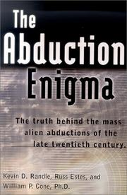 Cover of: The Abduction Enigma | Kevin D. Randle