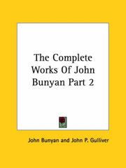 Cover of: The Complete Works of John Bunyan