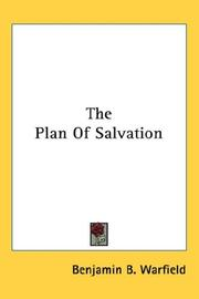 Cover of: The Plan of Salvation