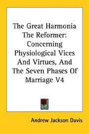 Cover of: The Great Harmonia The Reformer