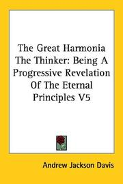 Cover of: The Great Harmonia The Thinker