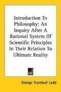 Cover of: Introduction To Philosophy